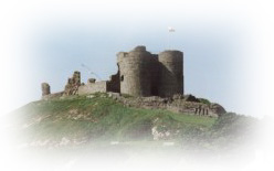Criccieth Castle was built at the beginning of the 13th century