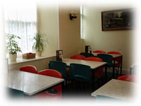 Enjoy your meals as a take-away, or alternatively place your order and relax in our comfortable dining room